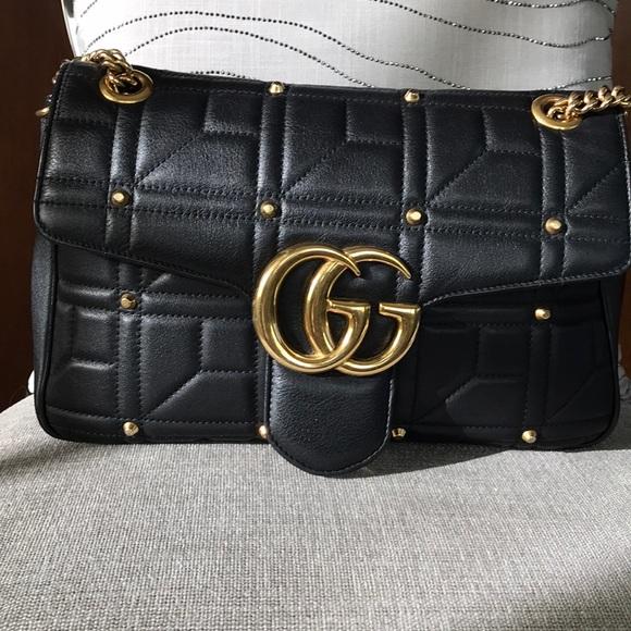a7029962a219b2 Gucci Bags | Marmont Bag Medium | Poshmark